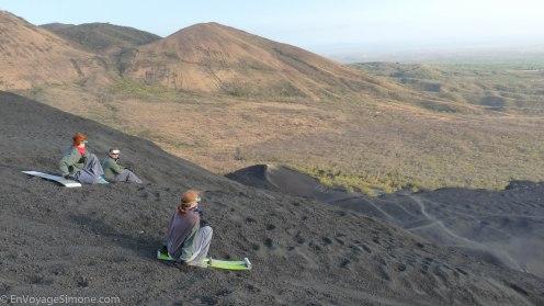 Cerro Negro Sandboarding - Leon